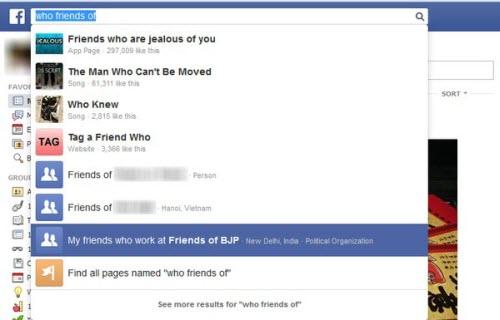 Facebook trên di động sắp có Graph Search - 1