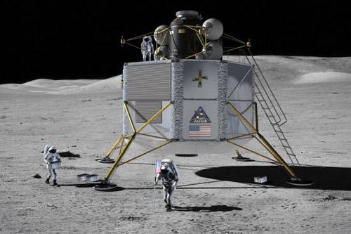 Mỹ tiết lộ kế hoạch tái chinh phục Mặt Trăng - 1