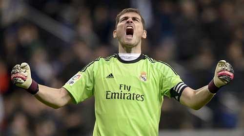 Giữ sạch lưới, Casillas đi vào lịch sử Real - 1