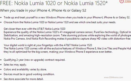 Microsoft mua iPhone, Galaxy S cũ đổi Lumia 1020 và 1520 - 1