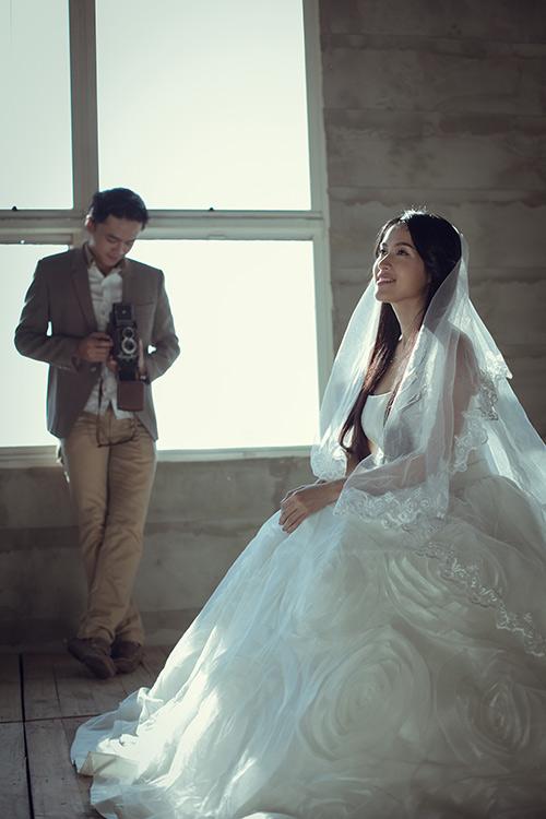 'Ảnh cưới' như mơ của sao Phía trước là bầu trời - 1