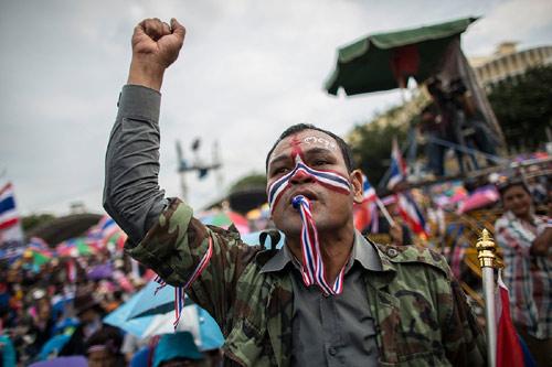 Lính Campuchia khơi biểu tình bạo lực ở Bangkok? - 1