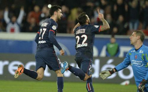 PSG -  Valenciennes: Công phá dữ dội - 1