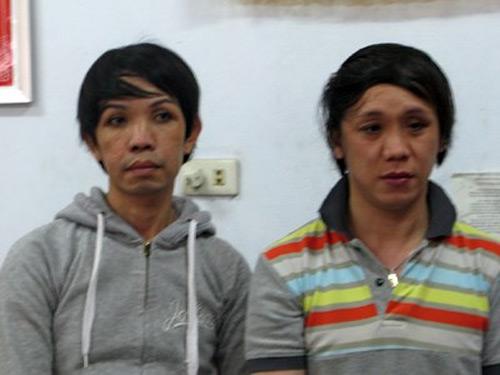 Hai nam thanh niên giả gái bán dâm để trộm cắp - 1