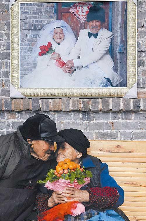 Valentine của vợ chồng hơn 100 tuổi - 1