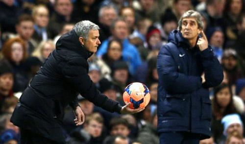 "Man City: Khi Pellegrini ""bắt bài"" Mourinho - 1"