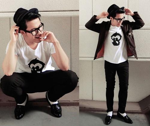 Gu ăn mặc thú vị của chàng trai Philippines - 1