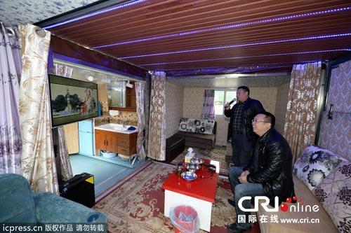 Ảnh: Nhà di động độc đáo ở Trung Quốc - 1