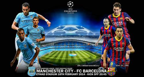 Nhà cái: Man City dễ hòa Barca - 1