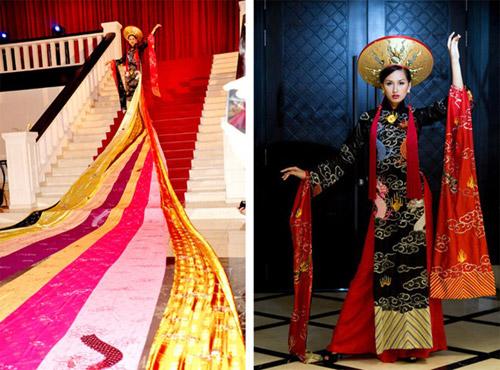 Các thiết kế áo dài độc đáo nhất Việt Nam - 1