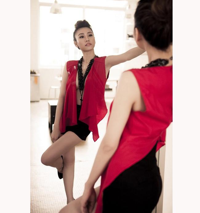 Đây là phong cách ăn mặc hiện tại của ngôi sao của Bước Nhảy Hoàn Vũ
