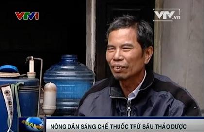 Người đàn ông 30 năm nếm thuốc trừ sâu thảo dược - 1