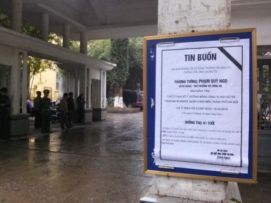 Lễ tang Tướng Ngọ trong thời tiết mưa lạnh - 1