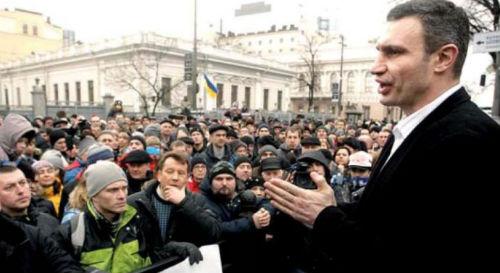 Vitali Klitschko trở thành ứng cử viên Tổng thống - 1
