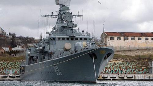 Chiến hạm Ukraine đứng về phía Nga - 1