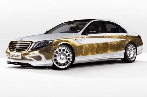 Mercedes-Benz S-Class dát 1.000 tấm vàng lá - 1