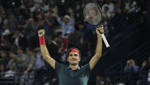 Cú bỏ nhỏ thần sầu của Federer hạ Berdych - 1