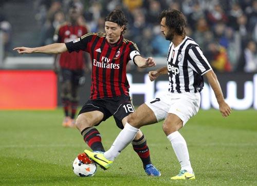 Milan-Juventus: 2 bàn thắng siêu đẳng - 1