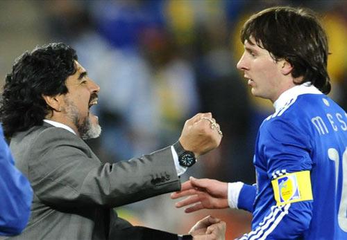 """""""Messi không bao giờ bằng Maradona"""" - 1"""