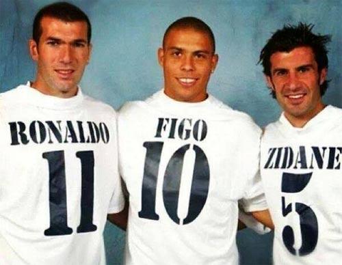 """Zidane, Ro """"béo"""", Figo thi đấu từ thiện - 1"""