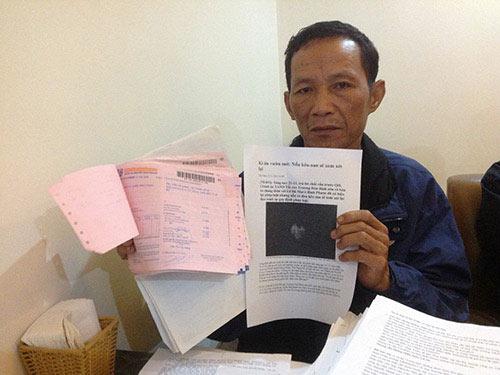 Cha của Lê Bá Mai ra Hà Nội kêu oan cho con - 1