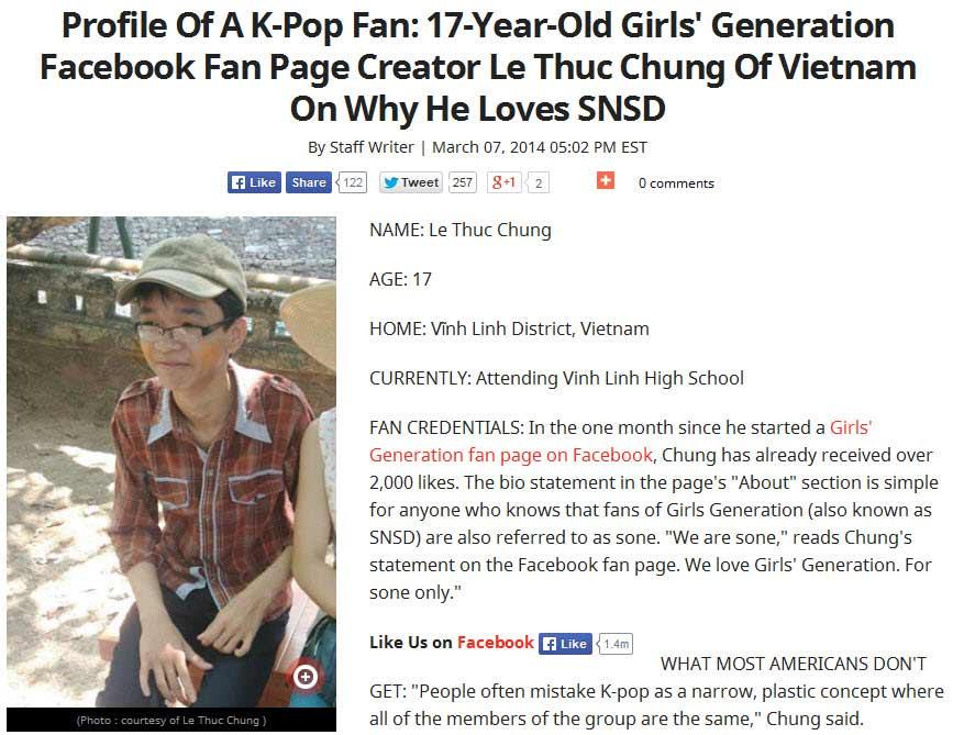 """Fan Việt """"yêu"""" SNSD gây chú ý tại Hàn - 1"""