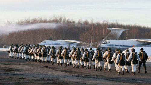 Lính dù Nga tập trận quy mô lớn - 1