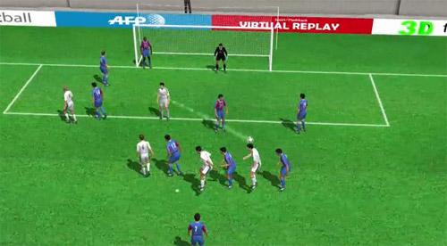Góc 3D: Xem Ronaldo đánh đầu như superman - 1