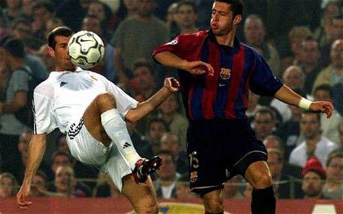 Real-Barca rực lửa: Nhớ đôi chân Zidane (P1) - 1