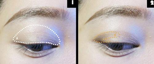 Đôi mắt đẹp với tông màu nude - 1