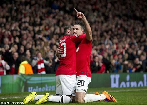 Rooney bùng nổ cảm xúc cùng MU - 1