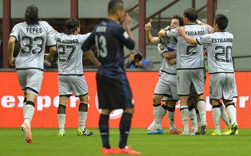 Inter - Atalanta: Cái dớp đen đủi - 1