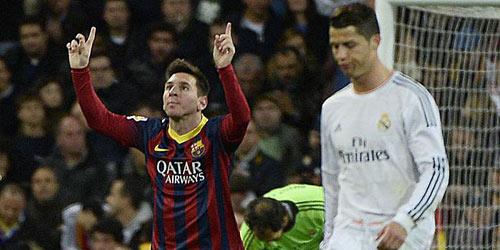 Báo chí châu Âu tung hô Messi sau El Clasico - 1