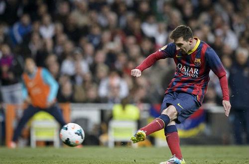 """Góc 3D: """"Siêu nhân"""" Messi tỏa sáng Bernabeu - 1"""