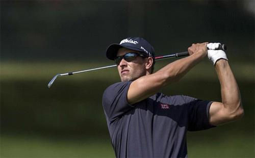 Golf: Adam Scott áp sát Tiger Woods - 1