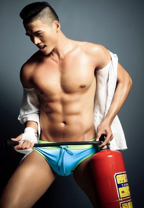 Chọn quần bơi khiến chàng thêm hấp dẫn - 1