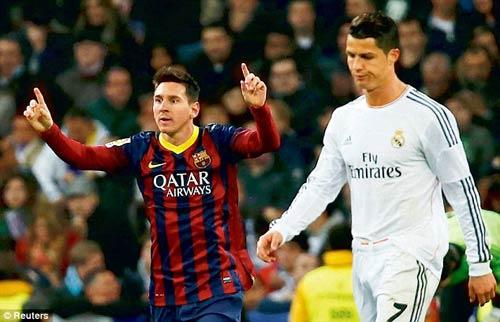 """Messi sắp cho Ronaldo """"hít khói"""" về lương - 1"""