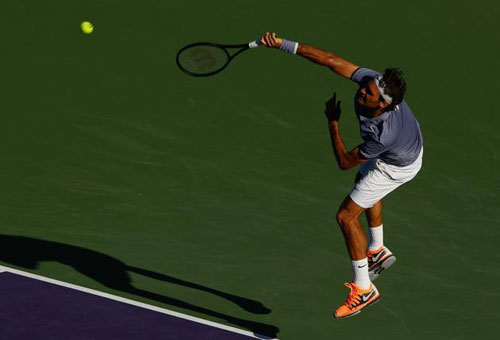 Federer - Gasquet: Vùi dập thê thảm (V4 Miami) - 1