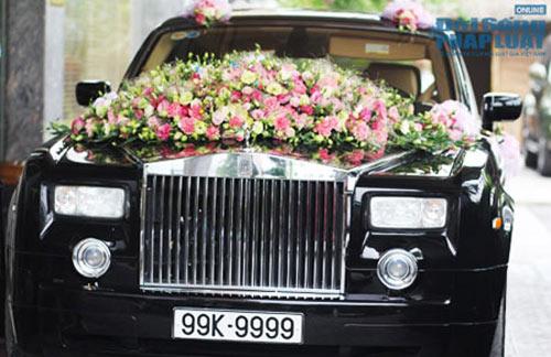 Rolls-Royce Phantom biển tứ quý 9 rước dâu tại Hà Nội - 1