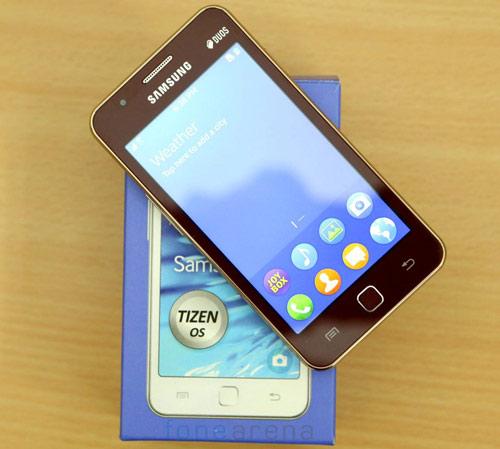 Đập hộp Samsung Z1 chạy Tizen OS đầu tiên - 1