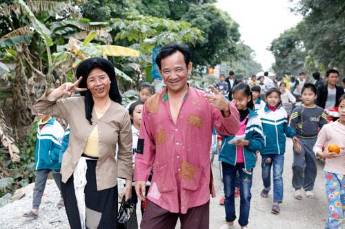 Quang Tèo hóa Chí Phèo khiến dân làng Vũ Đại háo hức - 1