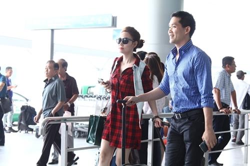 Ngân Khánh và chồng du lịch độc thân trước ngày cưới - 1