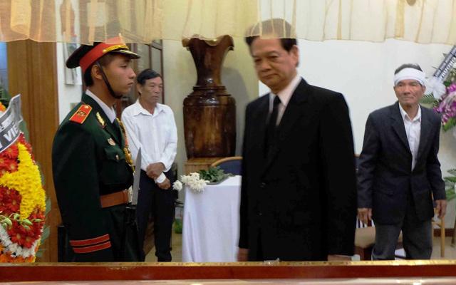 Tổng Bí thư, Thủ tướng viếng ông Nguyễn Bá Thanh - 1