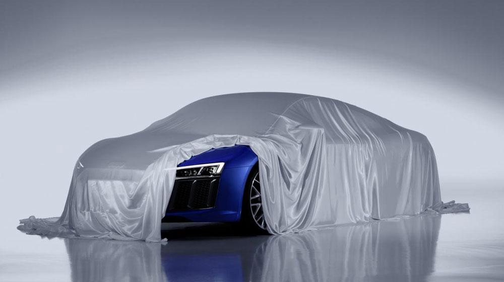 Audi R8 2015 tiếp tục rò rỉ - 1