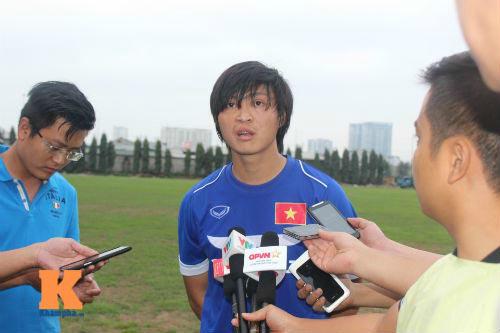 U23 VN: Tuấn Anh hào hứng với giáo án của HLV Miura - 1
