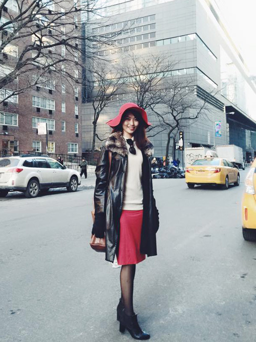 Quỳnh Châu trải lòng sau Tuần lễ thời trang New York - 1