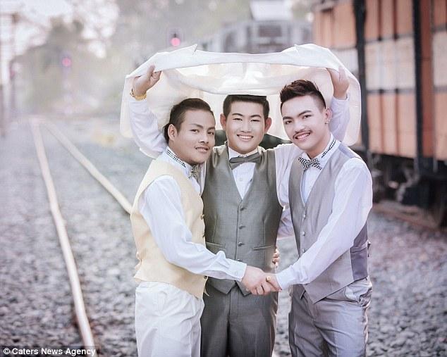 Đám cưới đồng tính 3 người siêu đặc biệt ở Thái Lan - 4