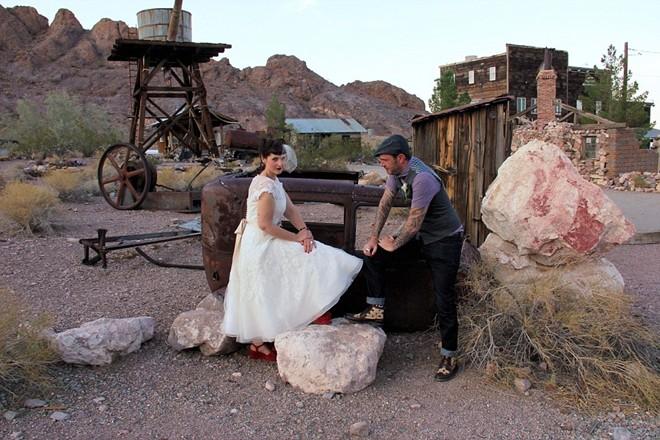 Những điểm tổ chức đám cưới dị nhất hành tinh - 1