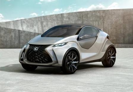 Lexus công bố khái niệm xe LF-SA mới