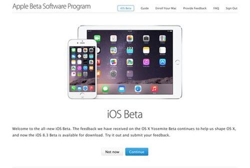 """Apple """"mở cửa"""" cho tải các bản thử nghiệm iOS mới - 1"""